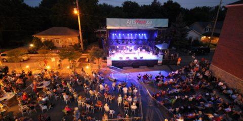 Festival Night Stage Web